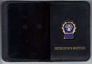 NYPD-Style-Detective Brother Mini Wallet (with Blue Panel Mini)