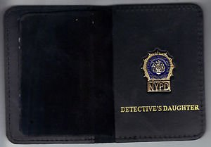 NYPD-Style-Detective Daughter Mini Wallet (with Cut-Out Letters Mini)