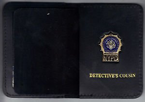 NYPD-Style-Detective Cousin Mini Wallet (with Cut-Out Letters Mini)
