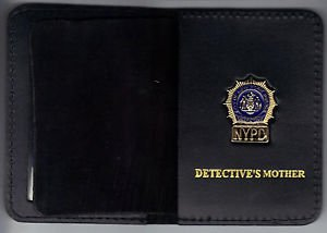 NYPD-Style-Detective Mother Mini Wallet (with Cut-Out Letters Mini)
