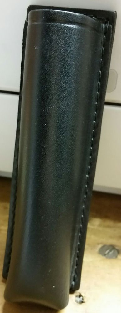 Leather Duty Baton Holder - used by most police department in the United States