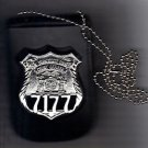 NYS Courts Officer Badge & ID Card Neck Holder (Badge & ID Card Not Included)