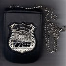 NYS EMT Officer Style Badge & ID Card Neck Holder (Badge & ID Card Not Included)
