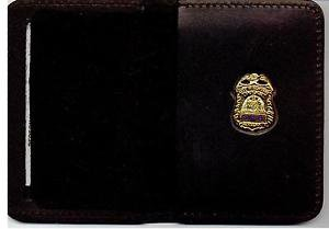 NYPD-Style-Sergeant Family Member Mini Wallet (with Blue Letter Mini)