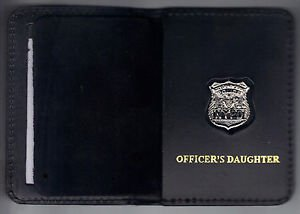 NYPD-Style-Officer's Daughter Mini Wallet (with Cut-Out Letters Mini)