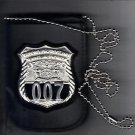 NYS TBTA Officer Badge & ID Card Neck Holder (Badge & ID Card Not Included)