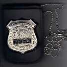 NYC EMS Officer Badge & ID Card Neck Holder (Badge & ID Card Not Included)