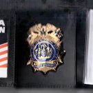 NYPD-Style-Chief of Detectives Money/Credit Card Wallet (Badge Not Included CT09