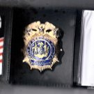 NYPD-Style-Deputy Commissioner Money/Credit Card Wallet Badge Not Included CT-09