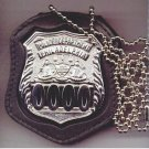 Philadelphia Police Officer Badge  Neck Hanger w/Chain - (Badge Not Included)