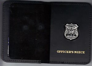 NYPD-Style-Officer's Niece Mini Wallet (with Random Numbered Mini)