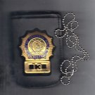 Paterson Police (NJ) Detective Shield/ID Neck Hanger w/Chain (Badge Not Included