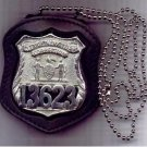 NYC Corrections Officer Badge Neck Hanger with chain (Badge Not Included)