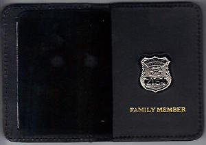 NYS TBTA Officer Family Member Mini Badge Wallet (Mini badge included)