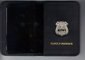 NYC-EMS-Officer's Family Member Mini Wallet (with Random Numbered Mini)