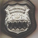 Philadelphia Police Officer's Badge Cut-Out Belt Clip - (Badge Not Included)