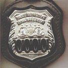 Philadelphia Police Officer's Badge Cut-Out Belt Clip - (Badge Not Included)