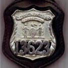 NYC Correction Officer's Badge Cut-Out Belt Clip - (Badge Not Included)