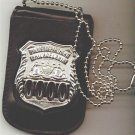 Philadelphia Police Officer Shield/ID Neck Holder (Badge/ID Card Not Included)