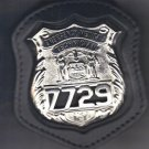 NYS EMT Police Officer's Badge Cut-Out Belt Clip - (Badge Not Included)