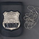 NYS Metro North Police Officer Shield/ID Neck Holder (Badge/ID Not Included)
