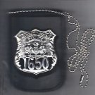 NYC Hospital Police Officer Shield/ID Neck Holder w/chain (Badge/ID Not Included