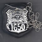 NYC Hospital PD Officer CutOut Neck Hanger/Belt Clip Combo (Badge Not Included)