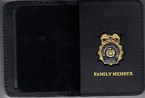 NYPD-Police Chief of Inspectional Services Family Member Wallet (w/Mini badge)