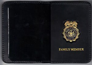 NYPD-Police Chief of Internal Affairs Family Member Wallet (w/Mini badge)