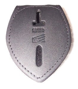 Generic Teardrop Police or Fire Badge Belt Clip (Badges Not Included)