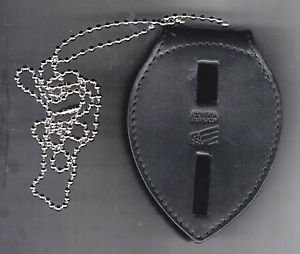 Large Generic Teardrop Police or Fire Badge Neck Hanger (Badges NOT included)