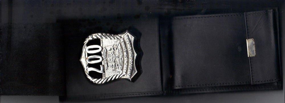 NYS TBTA Police Badge Shield/ID Billfold/Picture Wallet (Badge Not Included)