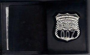 NYS TBTA Police Officer Shield/ID Medium Book Wallet (Badge Not Included) Cobra