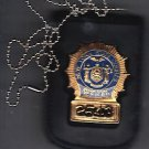 NYS Senior Court Officer Shield/ID Neck Hanger with Chain - (Badge Not Included)