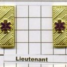 Emergency Medical Service - Lieutenant Collar Brass - Gold Plated - set of 2