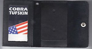 Generic Police/Fire/Security Badge/ID Snap Closure Wallet (Badge Not Included)