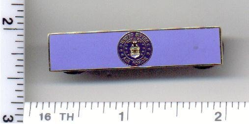 Corrections Department - U.S. Air Force Service Bar (military clutch Back)