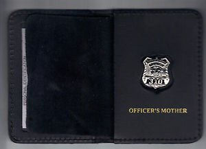 Westchester County Police (NY) Officer's Mother Book Wallet (with Mini badge)