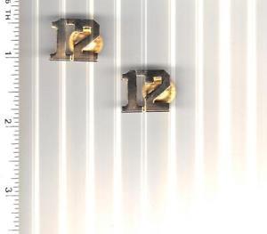 BARNEY MILLER Television Show - NYC 12th Precinct Gold Collar Brass Set
