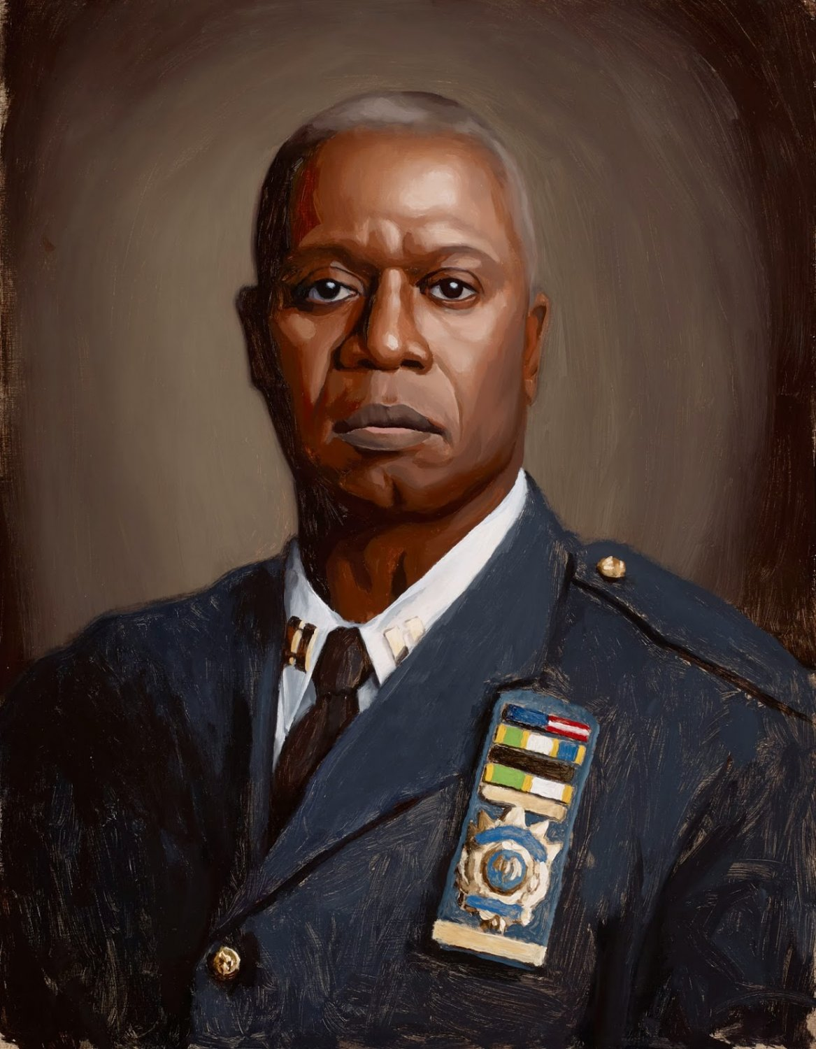 BROOKLYN 99 (Television Show) Captain Holt's Set-Up Rig