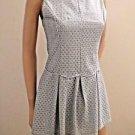 Baby Blue Short Sleeveless Dress w/Bell Shaped Skirt SzS