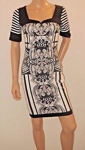 Black & White Bodycon Dress SzS