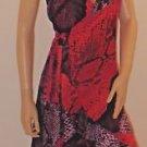 Stunning Imported Brazilian Ruffled Wrap Dress SzM