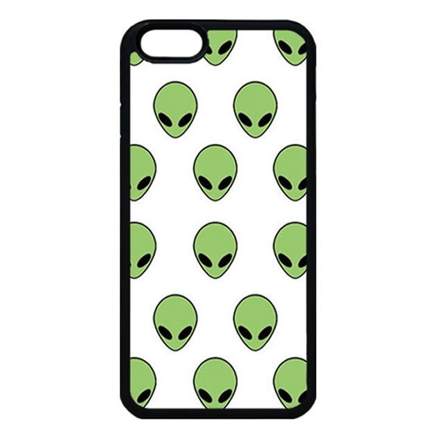 Alien Tumblr Grunge Pattern iPhone 6 Case, iPhone 6s Case