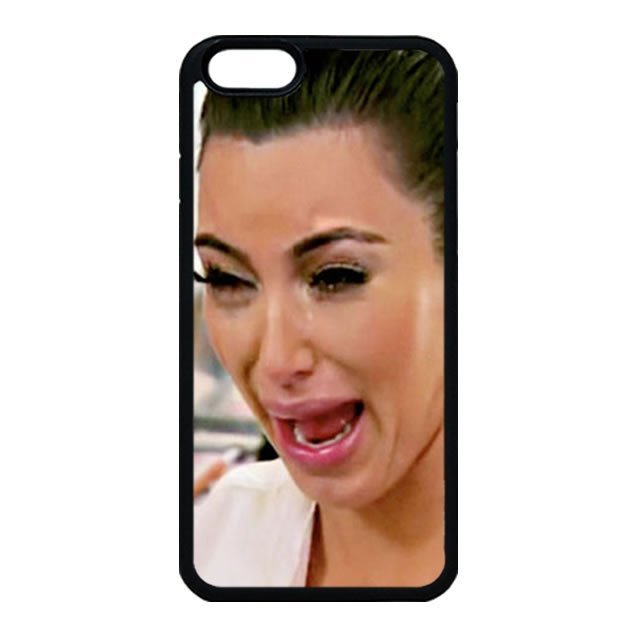 Kim Kardashian Ugly Crying Face iPhone 4 Case, iPhone 4s Case