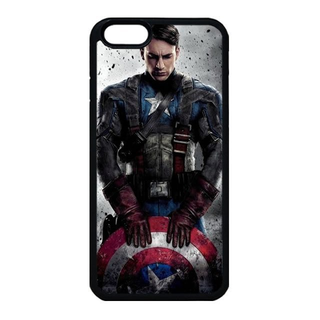 Captain America iPhone 4 Case, iPhone 4s Case
