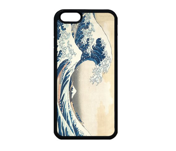 Japanese Wave iPhone 7 Case, Quote iPhone 7s Case, iPhone 7 Plus Case