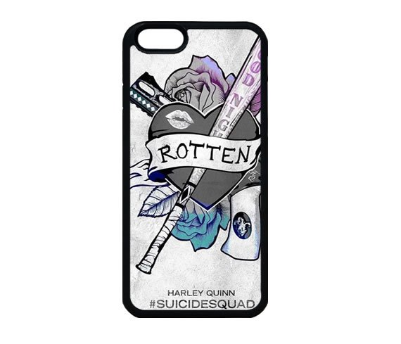 Suicide Squad Logo Harley Quinn iPhone 7 Case, iPhone 7s Case,  iPhone 7 Plus Case