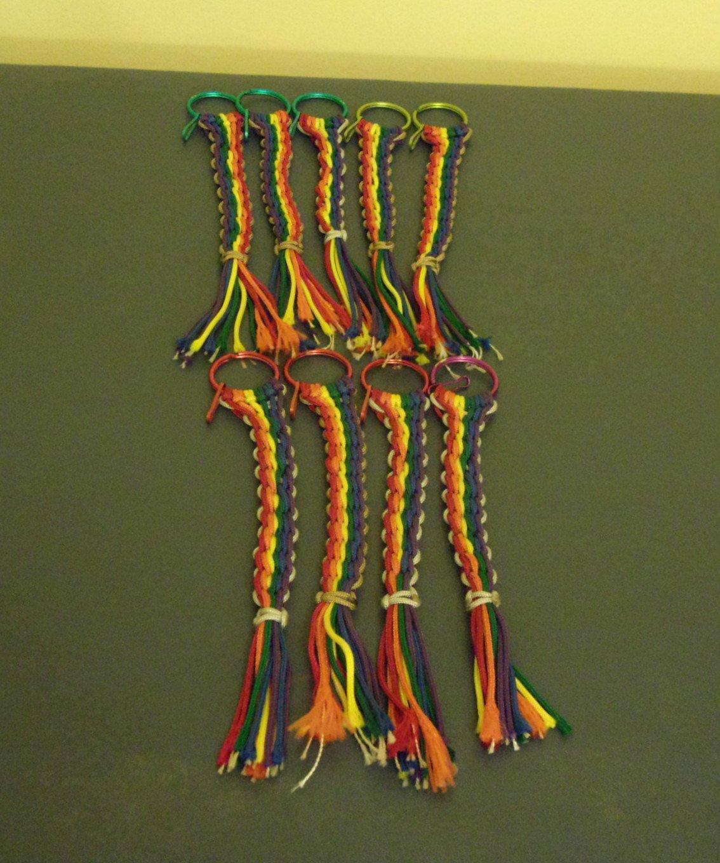 Rainbow Keychains Gay Pride/LGBT