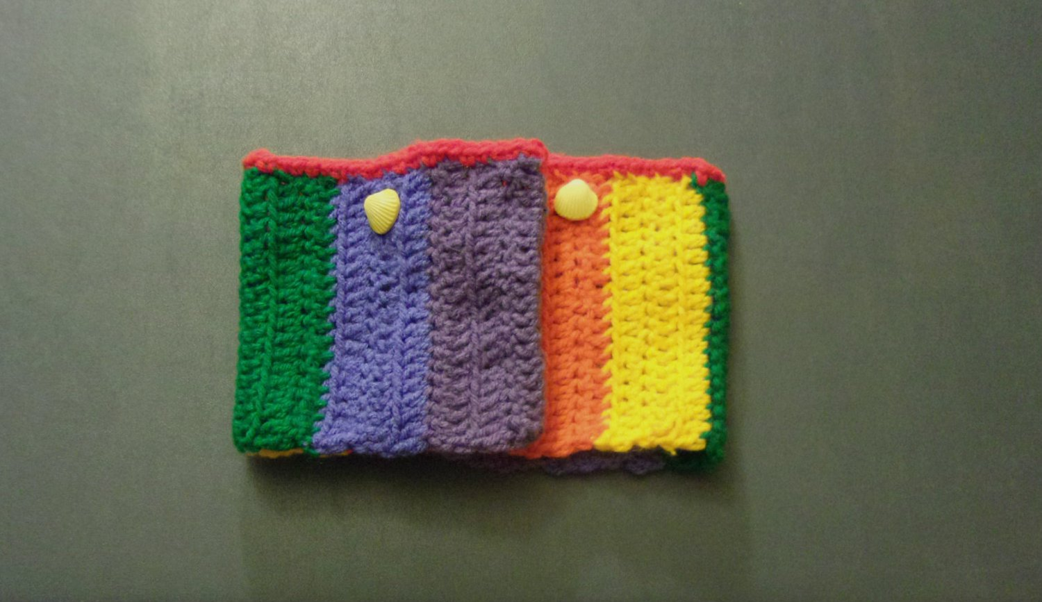 OSFM Rainbow Gay Pride LGBT Boot Toppers/Boot Cuffs with Yellow Button